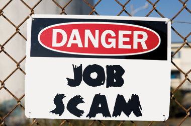 scams of job