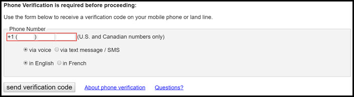 Verify your Craigslist Account on native number